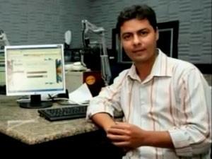 Jornalista é assassinado em Ipatinga, no Vale do Aço. (Foto: Reprodução / InterTV dos Vales)