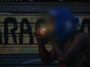 SP inicia programa de internação compulsória de viciados em crack (Foto: Rede Globo)
