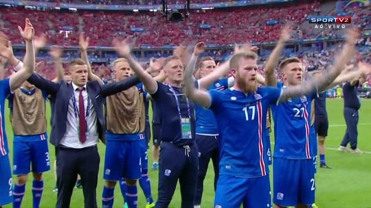 """Indicados ao """"Fan Award"""" têm Islândia, adversários unidos, e ursos de pelúcia"""