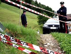 acidente CT Alemanha gravação comercial (Foto: AFP)