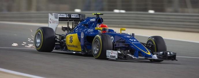 Felipe Nasr no GP do Bahrein, Fórmula 1 (Foto: Divulgação)