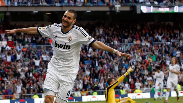 Benzema real madrid gol betis (Foto: Agência Reuters)