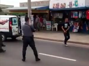 Homem de 30 anos foi baleado por PMs em Itu (Foto: Reprodução)