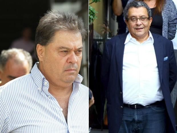PF pediu transferência de presos como Gim Argello e João Santana (Foto: Giuliano Gomes/PR Press e Rodolfo Buhrer/Reuters)