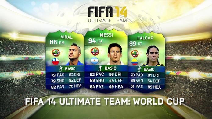 Fifa 14 Ultimate Team: World Cup: confira as novidades do modo de jogo (Foto: Divulgação)
