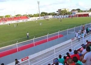 Estádio Eliel Martins, o Valfredão, Jacuipense (Foto: Site oficial do Jacuipense/Divulgação)
