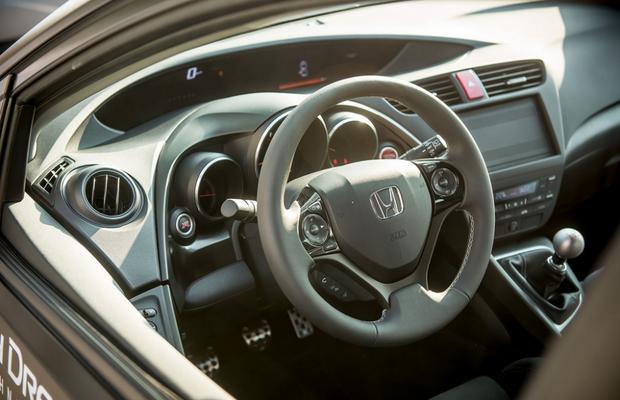 Protótipo do Honda Civic Type R (Foto: Divulgação)