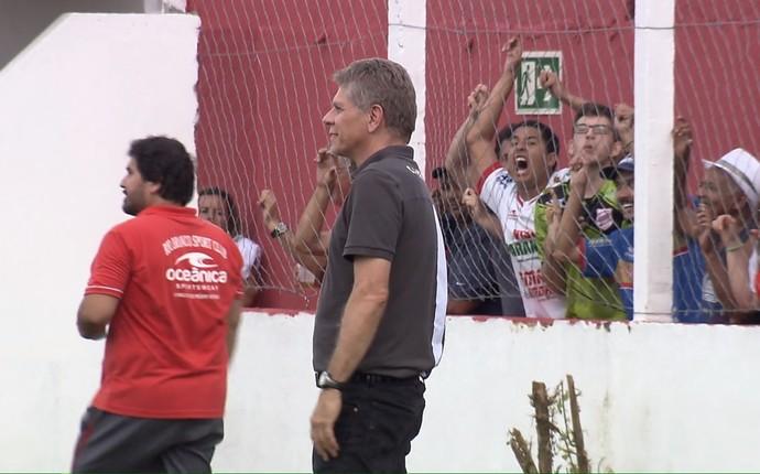 Paulo Autuori Atlético-PR (Foto: Reprodução/RPC)