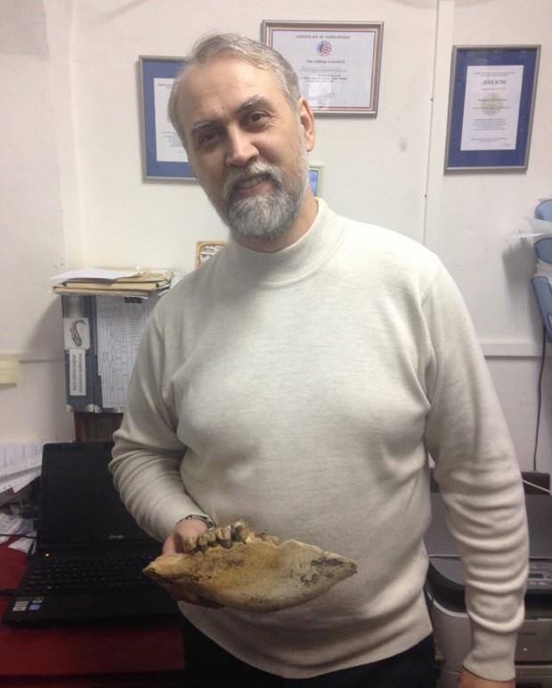 Andrey Shpanski, paleontólogo da Tomsk State University, um dos autores do estudo  (Foto: Tomsk State University/Divulgação)