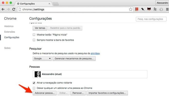 Chrome-Adicionar-Pessoas