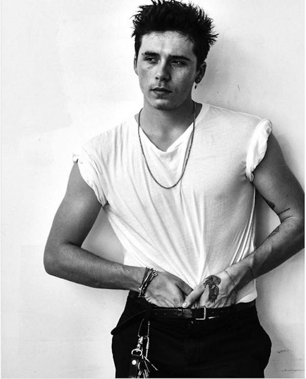 O jovem modelo e fotógrafo Brooklyn Beckham (Foto: Instagram)
