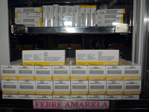 Vacinas da febre amarela em Mogi Guaçu (Foto: Fernando Parizi/Prefeitura de Mogi Guaçu )