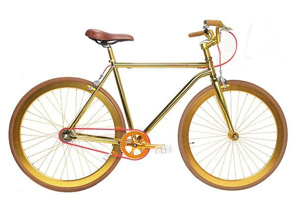 A Grand Gold Bike, criada pela  (Foto: Divulgação)