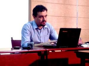 Secretário de Educação Daniel Zen (Foto: Rayssa Natani/ G1)