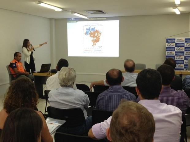 Reunião contou com representantes de AL, RN, SE, CE, BA e PE (Foto: Natália Souza/G1)