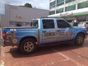 Carro TelexFREE (Foto: Raissa Natani/G1)