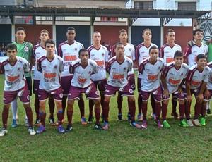 Time sub-17 da Desportiva Ferroviária (Foto: Divulgação)