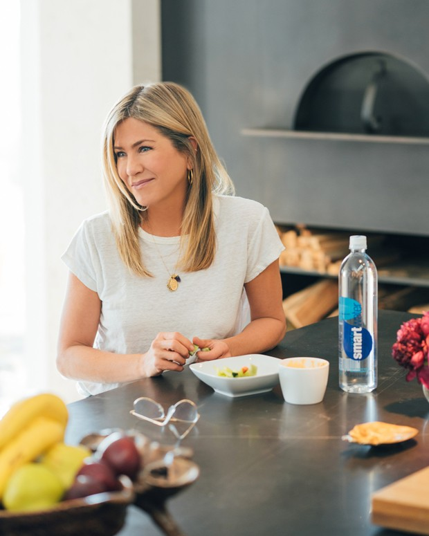 Jennifer Aniston mostra interior da sua casa (Foto: Mega/The Grosby )