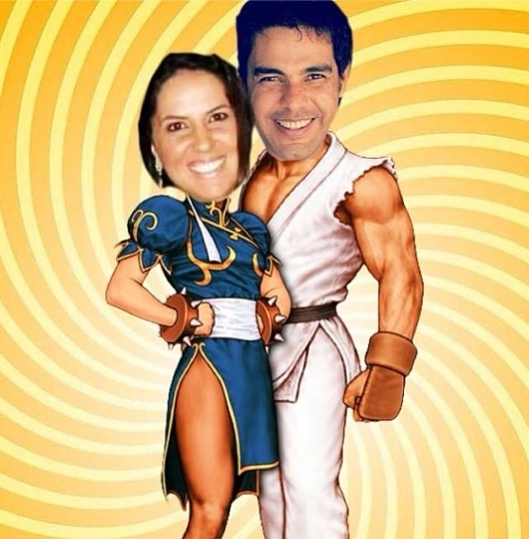 Zezé di Camargo e namorada (Foto: Instagram / Reprodução)