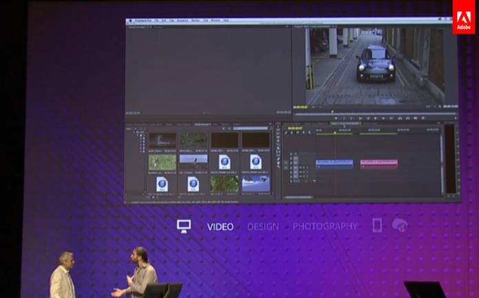 Adobe Premiere Pro CC 2014 ganhou rastreamento de frames apurado e em tempo real (Foto: Reprodução/Adobe)