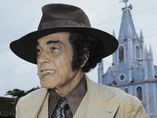 Paulo Gracindo como Odorico Paraguaçu na novela 'O Bem Amado', de 1973 (Foto: CEDOC TV Globo)