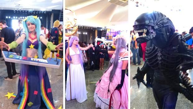 Shinobi Spirit teve concurso de cosplayers bem variado e disputado (Foto: Divulgação/RPC TV)
