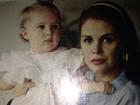 Monique Evans resgata fotos de Bárbara Evans recém-nascida
