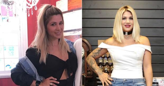 Dani Souza: antes e depois (Foto: Reprodução/Instagram // Rafael Cusato/EGO)