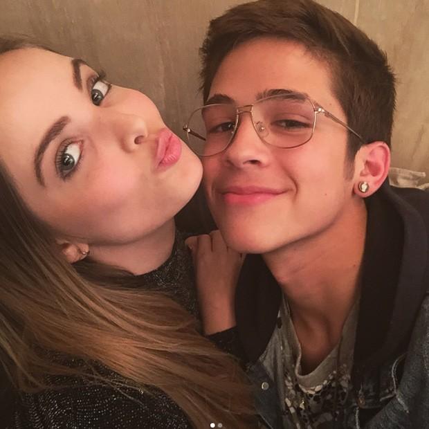 Giovanna Chaves e João Guilherme (Foto: Reprodução/Instagram)