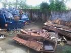 Cemitério cheio de lixo preocupa moradores em Peruíbe, litoral de SP