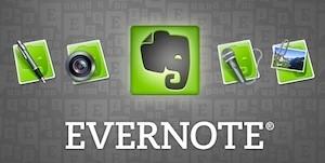 O Evernote é um programa que auxilia a organizar as anotações