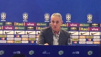 Tite fala sobre o encontro de Neymar e Messi na partida pelas eliminatórias