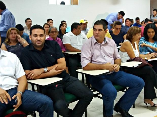 Secretariado foi anunciado pelo prefeito nesta sexta (30), em Rio Branco (Foto: Iryá Rodrigues/G1)