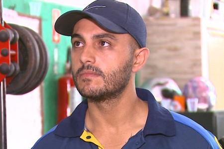 Rafael Guanaes, técnico do São Carlos (Foto: Paulo Chiari/EPTV)