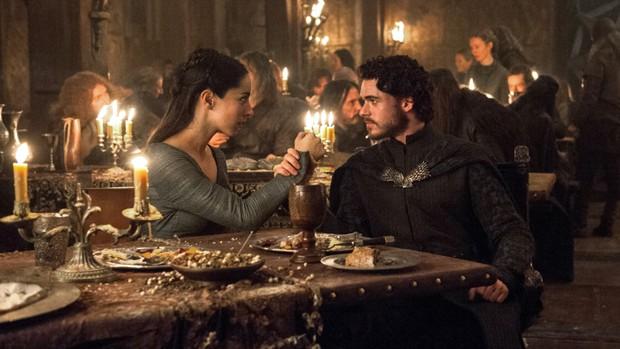 Robb Stark e Jeyne antes dos ataques no Casamento Vermelho (Foto: HBO/Divulgação)