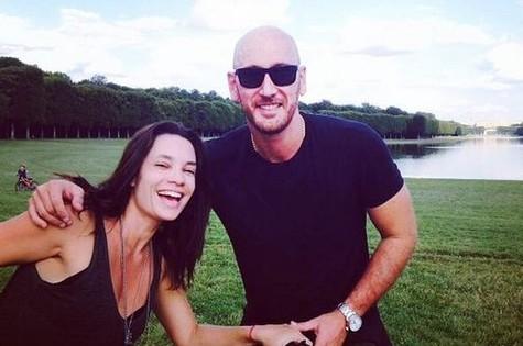Amandha Lee e o marido, Nalbert (Foto: Reprodução)