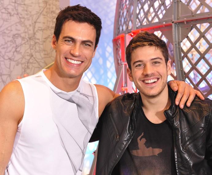 Carlos Casagrande atuou com Marco Pigossi em 'Fina Estampa' (Foto: Cedoc / TV Globo)