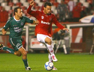 Leandro Damião Internacional x Goiás (Foto: VIPCOMM)