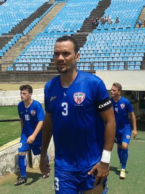 Novo Esporte busca recuperação contra o Figueirense (Foto: Wilkson Tarres/Globoesporte.com)