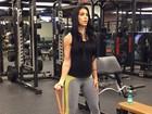 Bella Falconi dá dica de malhação para grávidas: 'Sempre leve e devagar'
