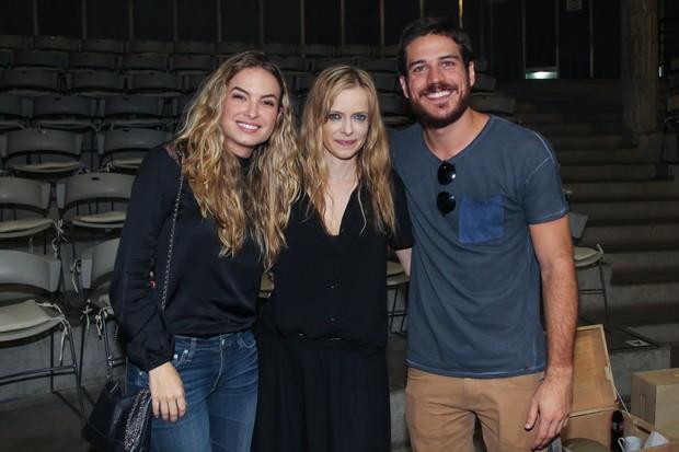 Lu Blanco, Maria Luisa Mendonça  e Marco Pigossi (Foto: Manuela Scarpa/Brazil News)