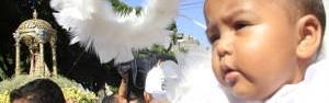 Romaria reúne 350 mil devotos na capital paraense  (Paula Sampaio/ O Liberal)