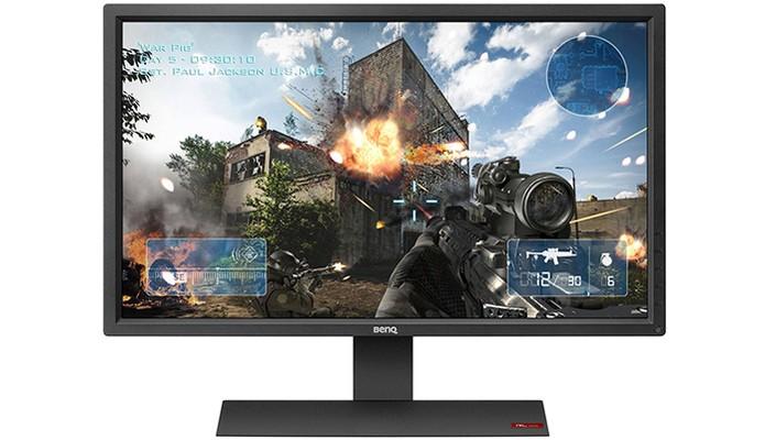 Monitor gamer da BenQ tem 27 polegadas e conexão HDMI (Foto: Divulgação/BenQ)