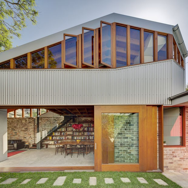 Est bulo torna se lar arejado e natural casa vogue - Maison camperdown carter williamson architects ...