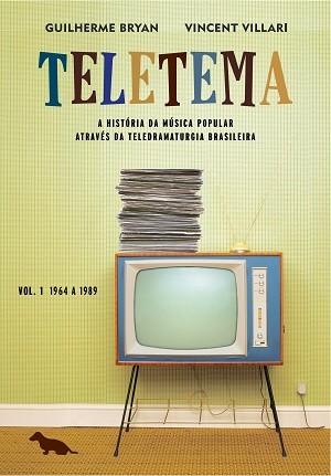 """Capa do livro """"Teletema - Volume 1"""" (Foto: Divulgação)"""