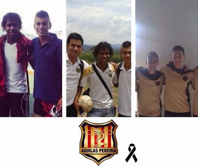 jogadores Águilas Doradas (Foto: Reprodução / Twitter)