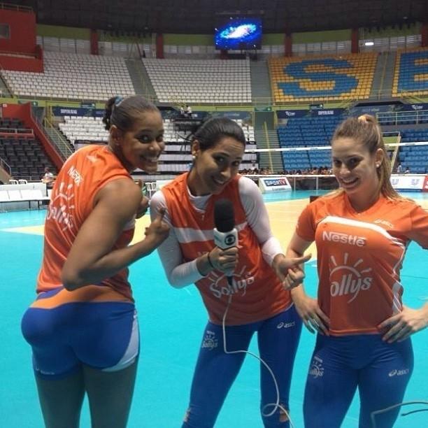 Adenísia, Jaqueline e Camila Brait (Foto: Divulgação)