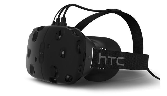 HTC Vive, óculos de realidade virtual, é adiado para 2016 (Foto: Divulgação)