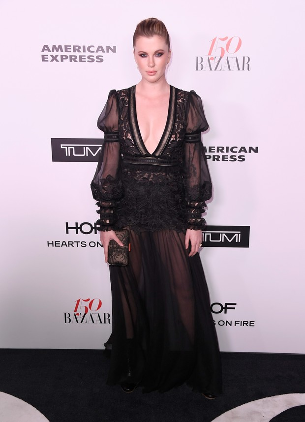 Ireland Baldwin em evento em Los Angeles, nos Estados Unidos (Foto: Frazer Harrison/ Getty Images/ AFP)