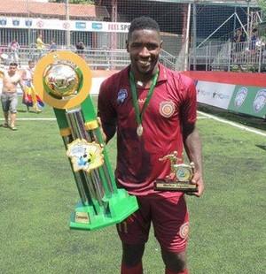 Victor bolt, jogador do madureira de fut7 (Foto: Fabricio Salvador - Madureira Arena Akxe)